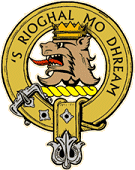 Crest of the Clan MacGregor. 's rioghal mo dhream