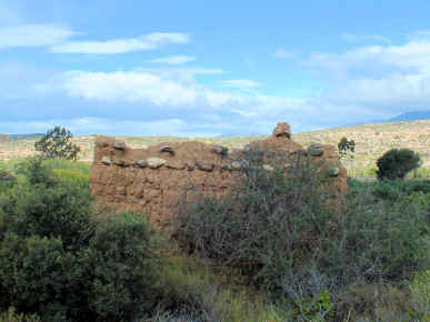 The ruins of the first McGregor post office and other buildings, 3